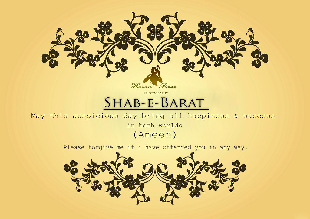 Happy Festival of Freedom or Shab-e-Barat